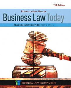 Business Law Today, Comprehensive, 11th Edition