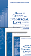 Manual of Credit and Commercial Laws - 2018 / 2019