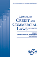 Manual of Credit and Commercial Laws, Volume I 2017