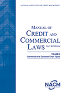 Manual of Credit and Commercial Laws, Volume II 2017