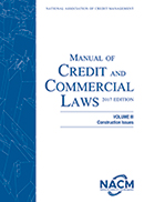 Manual of Credit and Commercial Laws, Volume III 2018