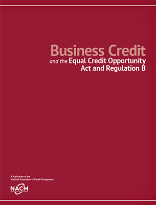 Business Credit and the Equal Credit Opportunity Act and Reg
