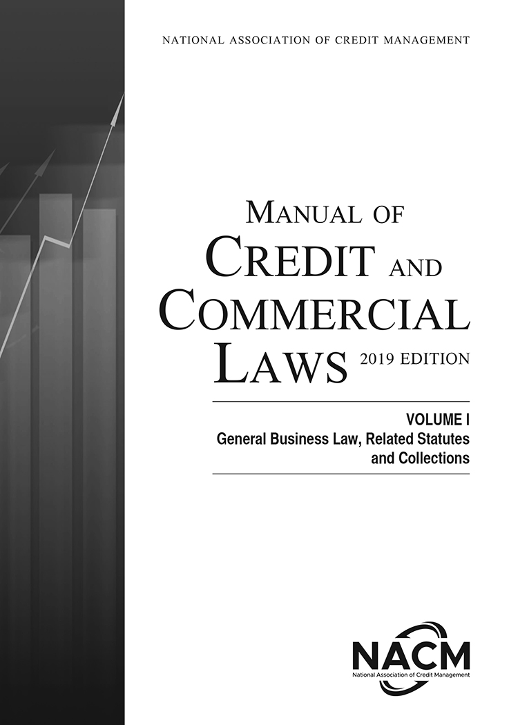 Manual of Credit and Commercial Laws, Volume I, 2019